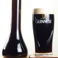 パブの定番ギネスビール!!アイルランド原産のこの黒ビールは世界中で愛飲されてます。