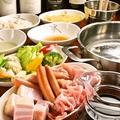 料理メニュー写真赤ワイン鍋