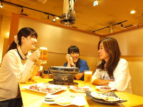 焼肉・海鮮・寿司…豊富なメニューをビュッフェ形式で楽しめるお店♪