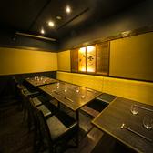 【半個室・完全個室】2名様~お使いただける個室は様々な用途に。20名様以上で完全個室空間も可能◎