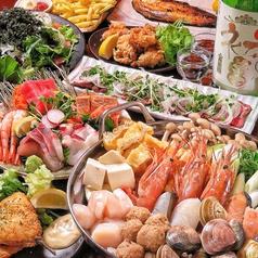 地酒と肴と静岡もの よしくらのコース写真