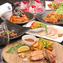 博多 肉道楽のコース写真