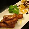 料理メニュー写真ハニー芋スティック(バニラアイス付き)