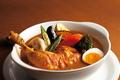 料理メニュー写真やわらかチキンと野菜のスープカリー
