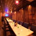 団体様に人気のテーブル席!会社宴会やサークルの飲み会など大人数にもご対応いたします★