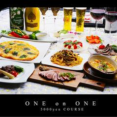 ONE on ONE ワンオンワン 栄のコース写真