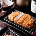 料理メニュー写真熟成三元麦豚ロースかつ(単品) 115g