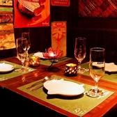 【4名様用掘りごたつ席】足を延ばしてゆったりとお食事をお楽しみ頂けます。