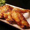 料理メニュー写真地養鶏の手羽先唐揚げ(塩・旨辛)