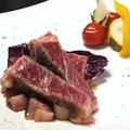 料理メニュー写真道内産牛のステーキ
