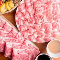 【博多で鍋を楽しむ】しゃぶしゃぶ・すき焼き食べ放題♪