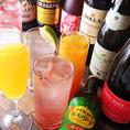 ワインやカクテルも豊富にご用意しております。JR宇都宮駅から歩いてすぐのところにあるGYOZABAR。飲み放題付きコースもご用意しております。