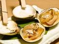 料理メニュー写真焼きハマグリ(1個)