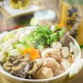 料理メニュー写真ブランド地鶏『日向鶏』を使用した贅沢鍋が旨い!