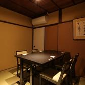 テーブルあり!落ち着いた空間は顔合わせや接待などにも重宝されます。