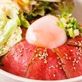 【オススメ2】ローストビーフ丼・明石焼き・焼肉御膳など600円~!