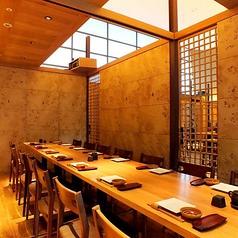 2名様~14名様ご案内可能「半個室」お気軽にプライベート空間をお愉しみ頂けます。チャージ⇒1,000円税込価格。※コース料理ご注文の場合は頂いておりません。