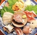 料理メニュー写真その日の美味しいお魚