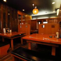 .1Fテーブル席は4名様×4卓ご用意しております。