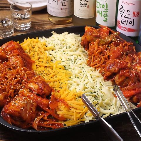 イケメン通りの「マッコリ物語」種類豊富な韓国家庭料理と多彩なマッコリがおすすめ!
