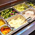 ステーキをご注文の方は、スープバー、サラダバー食べ放題!!