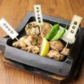 料理メニュー写真炭焼き3種