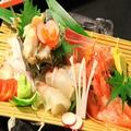 料理メニュー写真お造り5種/3種