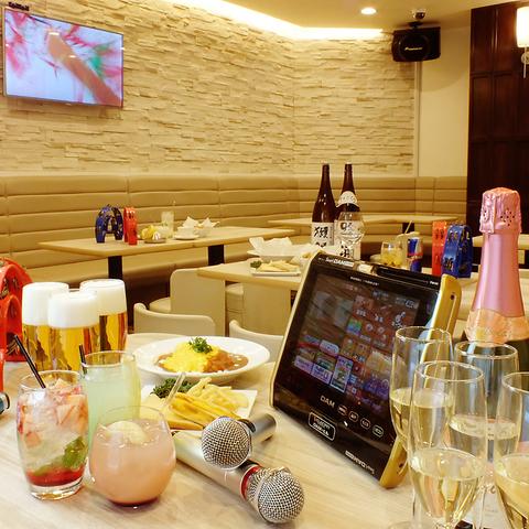 橋本駅2分☆カラオケルームは19部屋☆合コンや女子会、各種パーティーに最適♪