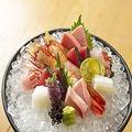 料理メニュー写真厳選鮮魚お刺身五点盛り