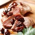 料理メニュー写真合鴨ロースト レーズンソース