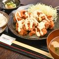 料理メニュー写真塩レモンマヨ定食