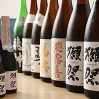 獺祭&日本酒多数取り揃えております!