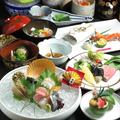 料理メニュー写真■昼コース■【四季の懐石・夏】お祝い懐石コース(鯛の塩釜付)[全8品]伊勢海老の追加も承ります
