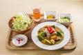 料理メニュー写真健康カレー定食