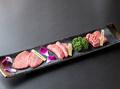 料理メニュー写真牛タン3種食べ比べ盛り