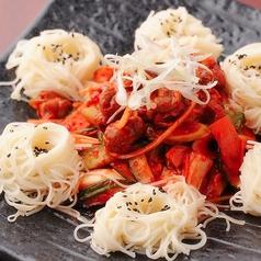 料理メニュー写真つぶ貝の和え物