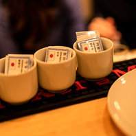 希少銘酒含む60種類の日本酒をお試しから愉しめます!