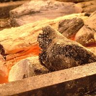 【紀州備長炭】で焼く旨味のある焼鳥