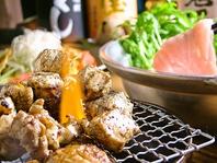 宮崎地鶏の地頭鶏いぶし焼