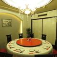 [2階×完全円卓個室]盛り上がること間違いなし!の豪華な円卓個室!女子会にも最適な空間となっております♪7~24名でご利用いただける完全円卓個室空間となっております★