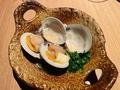 料理メニュー写真獺祭のハマグリ酒蒸し