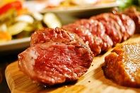 こだわり満載のお肉
