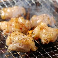 七輪で焼き上げる焼肉は旨味、香りが格段に上がります!