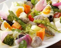 野菜やハーブを使った南仏家庭料理