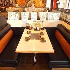 4名様に最適なテーブル席