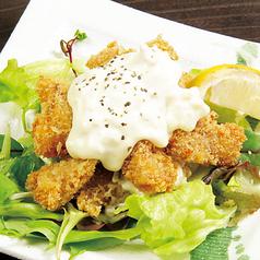 料理メニュー写真冠地鶏のセセリ南蛮