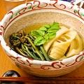 料理メニュー写真【ある日の献立一例】筍とわらびの煮物