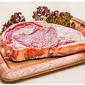 料理メニュー写真リブロース1ポンドステーキ(450g)