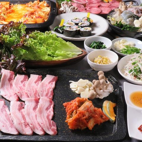 焼肉 韓国料理 ゆん