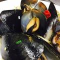 料理メニュー写真ルーム貝のパスタ